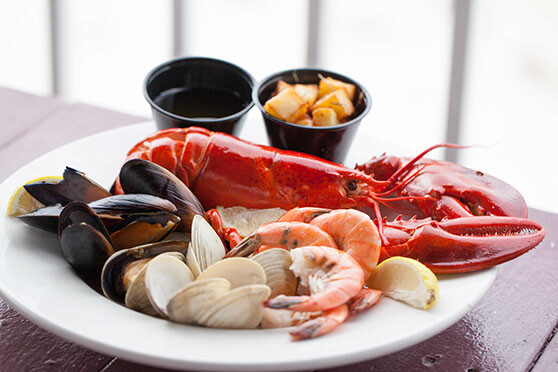 Lobster Dinner Fort Myers Beach Sun Deck